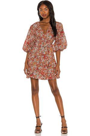 Minkpink Gabae Wrap Mini Dress in . Size S, XS.