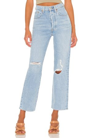 Levi's X REVOLVE Ribcage Straight Ankle in . Size 25, 26, 27, 28, 29, 30, 31, 32.