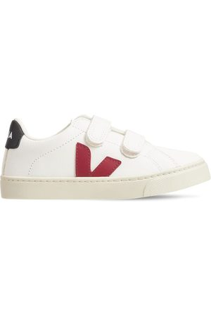 Veja Chrome-free Leather Strap Sneakers