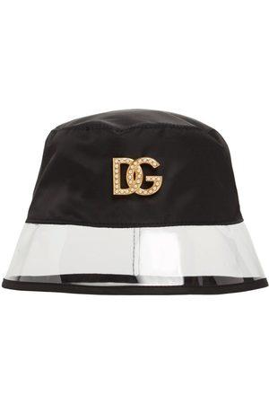 Dolce & Gabbana Women Hats - Metal Logo Bucket Hat