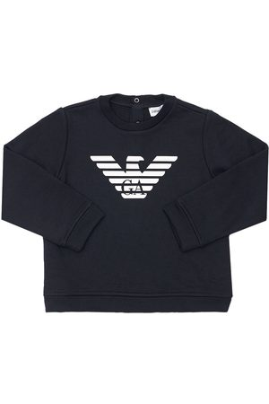 Emporio Armani Modal Cotton Sweatshirt W/ Logo