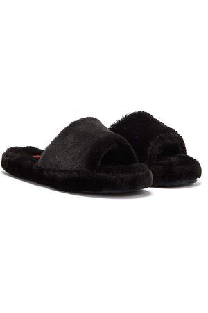 Ralph Lauren Women Casual Shoes - Fur Slide Womens Slippers