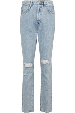 SLVRLAKE Beatnik high-rise distressed jeans