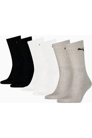 PUMA Unisex Sport Crew Socks 6 Pack