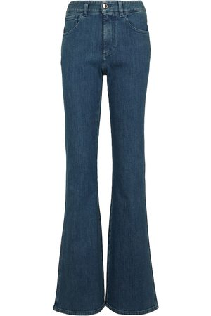 Chloé Women High Waisted - High-rise bootcut jeans