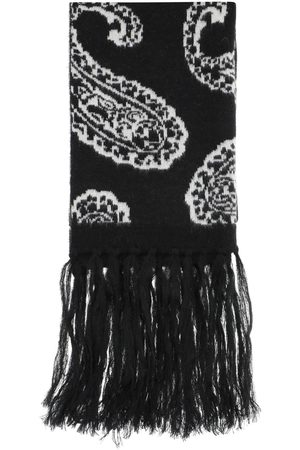 424 PAISLEY SCARF OS , Wool