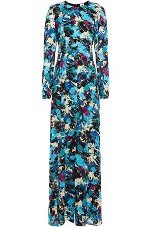 M Missoni Woman Metallic Printed Fil Coupé Silk-blend Jacquard Maxi Dress Multicolor Size 40