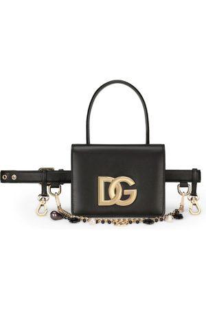 Dolce & Gabbana Women Handbags - Leather 3.5 Belt Bag