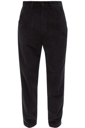 OUR LEGACY Garment-dyed Cotton-corduroy Trousers - Mens
