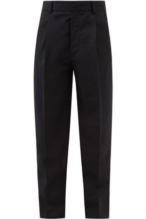 Acne Studios Tailored Pleated Wool-blend Trousers - Mens