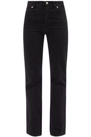 Raey Angel Organic-cotton Bootcut Jeans - Womens