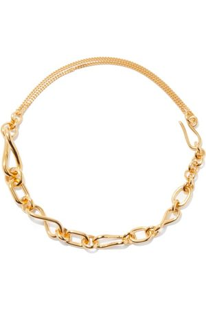 Loewe -plated Sterling-silver Chain Necklace - Womens