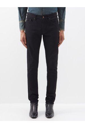 Saint Laurent Mid-rise Skinny-leg Jeans - Mens