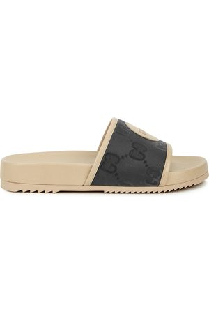 Gucci Off The Grid Monogrammed Sliders