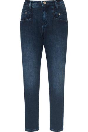 Mac 7/8-length jeans design Rich Carrot denim size: 8