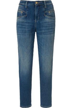 Mac Women Jeans - 7/8-length jeans design Rich Carrot denim size: 8