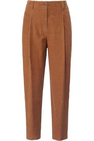 Peter Hahn Women Trousers - Fine corduroy 7/8-length trousers size: 10s