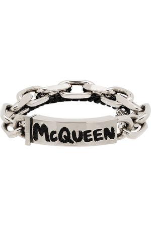 Alexander McQueen Men Bracelets - Graffiti chain bracelet