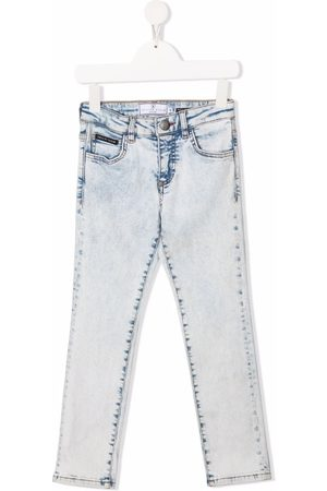 Philipp Plein Girls Jeans - Iconic Plein regular-fit jeans