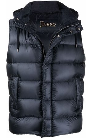 Herno Reversible quilted down gilet