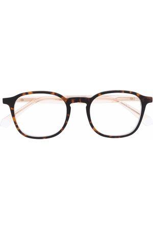 Polaroid Tortoiseshell-effect square-frame glasses