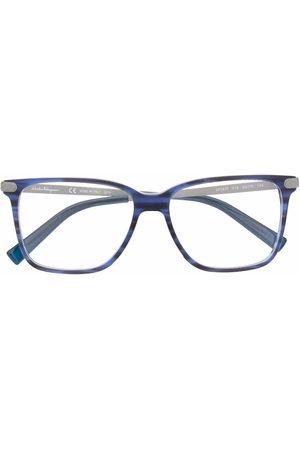 Salvatore Ferragamo Square-frame glasses