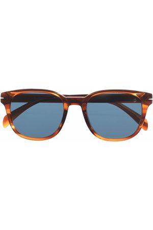 DB EYEWEAR BY DAVID BECKHAM Tortoiseshell-effect square-frame sunglasses