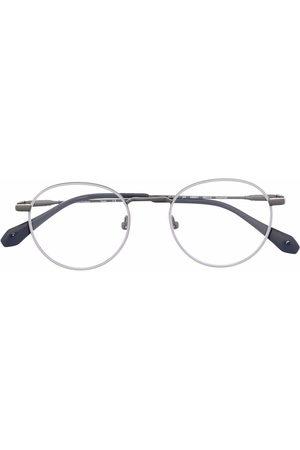 GIGI Sunglasses - Round-frame colour-block glasses