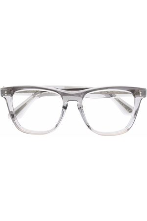 Oliver Peoples Sunglasses - Lynes transparent square-frame lenses