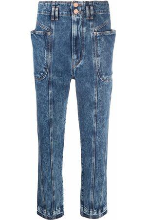 Isabel Marant Women Boyfriend - Acid wash mum jeans
