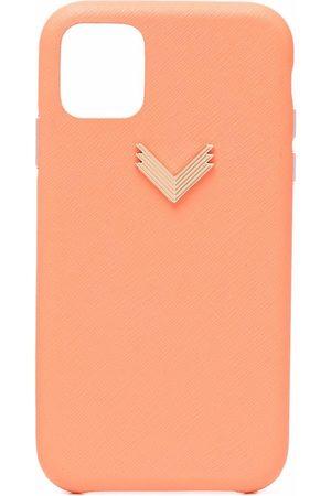 Manokhi X Velante officiale chevron-plaque iPhone case