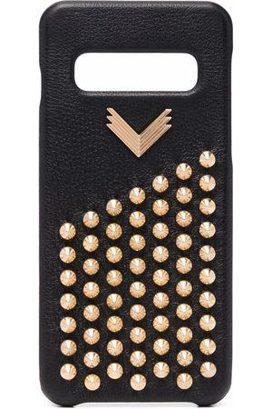 Manokhi Studded leather phone case
