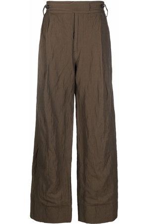 ZIGGY CHEN Wide leg trousers