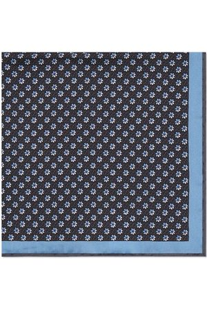 Gucci GG floral-print silk pocket square