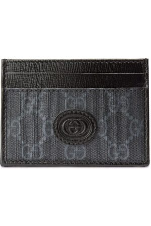 Gucci GG-canvas logo-patch cardholder