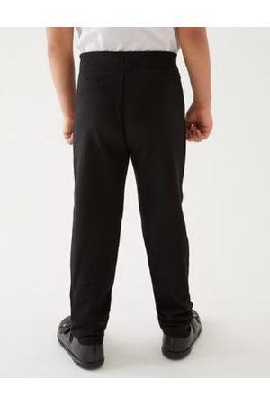 Marks & Spencer Girls Girls' Slim Leg Knitted School Trousers (2-18 Yrs) - 3-4 Y - , , ,Navy