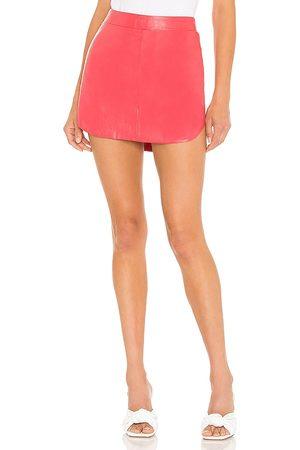Karina Grimaldi Simon Leather Skirt in . Size XS, S, M.