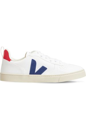 Veja V-10 Cotton Lace-up Sneakers