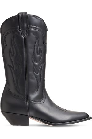 SONORA Women Cowboy Boots - 35mm Santafe Leather Western Boots