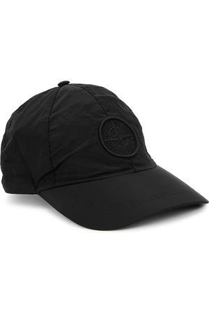 Stone Island Logo-embroidered Shell Cap
