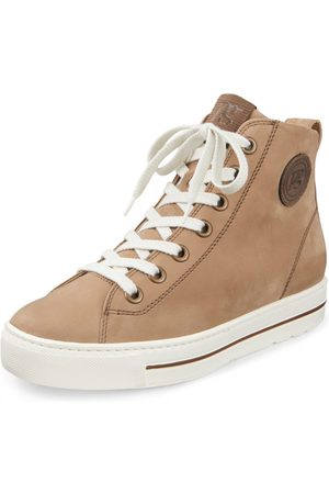 Paul Green Ankle-high sneakers in calf nubuck leather size: 37