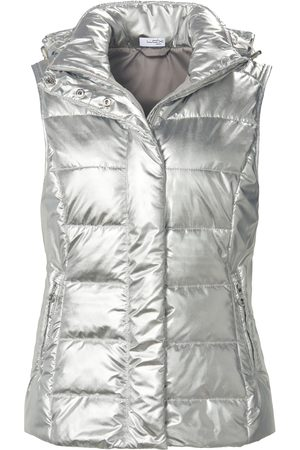 Looxent Quilted gilet zip-off hood size: 10