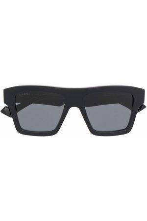 Gucci Eyewear Men Sunglasses - Square-frame tinted sunglasses
