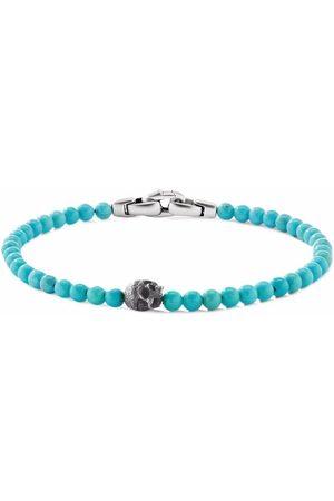 David Yurman 4mm skull bead bracelet