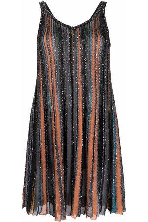 Missoni Women Party Dresses - Sequin-embellished pleated mini dress