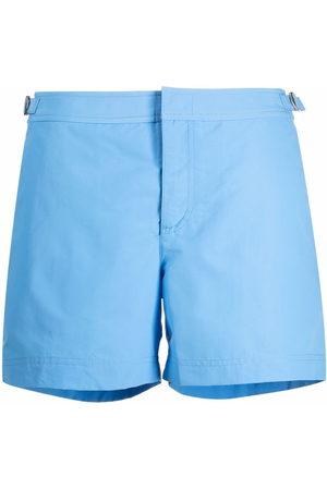Orlebar Brown Men Swim Shorts - Riviera buckle-detail swim shorts
