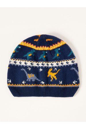 Monsoon Boys Corey Dino Fairisle Beanie Hat