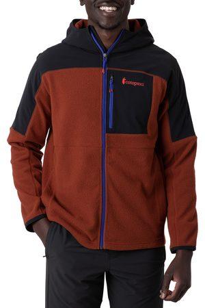 COTOPAXI Men Fleece Jackets - Abrazo Hooded Full Zip s Fleece - Rust