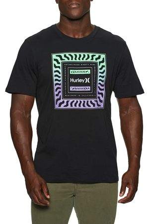 Hurley Everyday Washed Wave Check s Short Sleeve T-Shirt