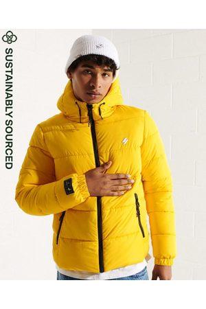 Superdry Men Sports Jackets - Hooded Sports Puffer Jacket